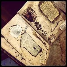 Book of shadows diy pages - Yahoo Image Search Results