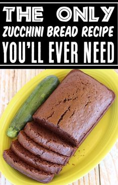 Chocolate Zucchini Bread Recipes! Easy, Moist, decadent bread made with real cocoa is the perfect match for your cup of coffee, and will have you jumping out of bed in the mornings! And the best part is... this recipe makes 2 loaves, so you can enjoy one now, and freeze the other one for later! Go grab the recipe and give it a try this week! Easy Summer Desserts, Fall Desserts, Delicious Desserts, Dessert Recipes, Chocolate Zucchini Bread, Zucchini Bread Recipes, Best Chocolate, Chocolate Recipes, Southern Recipes