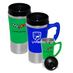 Custom Travel Mugs - Plastic Travel Mugs Personalized with Logo ...