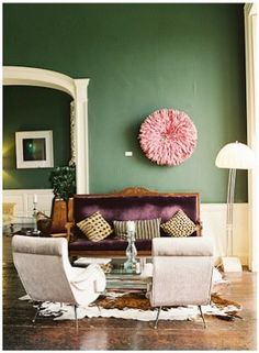 Colour Trends. Living room inspiration. Interior Design. #homedecor #livingroom #interiordesign Read more: https://www.brabbu.com/en/inspiration-and-ideas/trends/fall-winter-2016-2017-color-trends-according-pantone