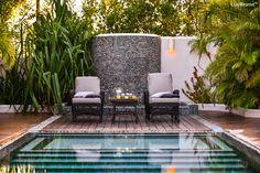 Pebble Tiles, Pebble Stone, Stone Mosaic, Mosaic Tiles, Stone Bathtub, Stone Sink, Outdoor Bathtub, River Stones, Hotel Pool