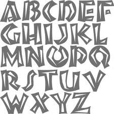 african tribal font - Google Search