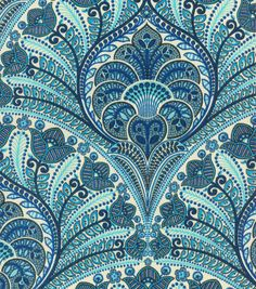 Upholstery Fabric-Tommy Bahama Outdoor TBO Crescent Beach Riptide
