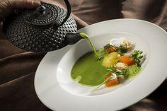 Kräuterschaumsuppe (c)LukasKirchgasser #herbs #colours #tasty