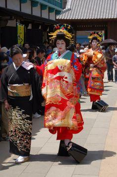 Maruyama Hanamatsuri (in autumn), Nagasaki City Nagasaki City Festivals and events