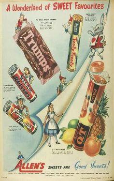 Allen's Sweets ~ Australia (year unknown).