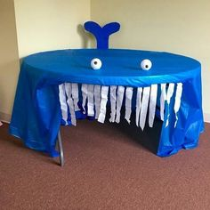 Baby Shark Song - for Dramatic Play Center A whale of an idea! How fun for a reading area or play spot during our ocean theme. Under The Sea Crafts, Under The Sea Theme, Sea Activities, Dramatic Play Centers, Preschool Dramatic Play, Ocean Crafts, Ocean Themed Crafts, Ocean Themed Classroom, Inspiration