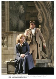 Costumes From Manon Composed By Massenet.  Pictured: Renee Fleming and Marcelo Alvarez.