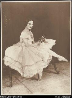 Anna Pavlova in costume for Giselle, 1925