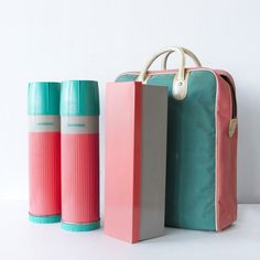 Fab.com | Summer Picnic Thermos Pack (vintage)