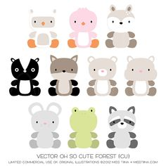 Vector Oh So Cute - Forest {CU}