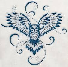 Afbeeldingsresultaat voor simple owl tattoo back