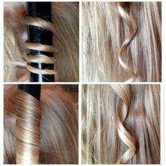 Curly Hair Tutorial for Long Hair