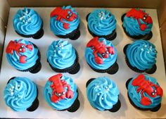 Lobster Cupcakes