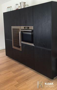 IKEA Metod met zwart gebeitste fronten van KOAK