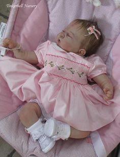 Reborn Doll Kit Jazmine Bell by Sandy Faber