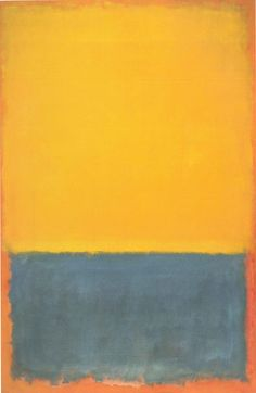 And if he left off dreaming about you where do you suppose you'd be? Lewis Carroll Through the Looking Glass __________ Painting: Mark Rothko; Yellow and Blue (Yellow Blue on Orange) 1955 Carnegie Museum of Art Pittsburgh 1998 Kate Rothko Prizel Mark Rothko Paintings, Rothko Art, Tachisme, Abstract Painters, Abstract Art, Art Bleu, Carnegie Museum Of Art, Art Abstrait, Blue Art