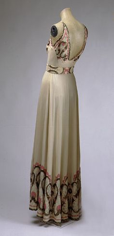 French Dress - 1930's - The Metropolitan Museum of Art - @~ Mlle