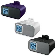 iHome® iBT22 Bluetooth Dual Alarm Clock - BedBathandBeyond.com $50