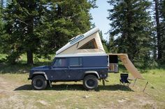 Camping, defender style