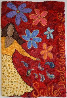 How to Hook Rugs from Start to Finish - A Free Beginner How to Course in Hooking Rugs compliments of Deanne Fitzpatrick Rug Hooking Studio