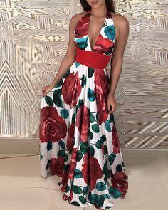 Halterneck Floral Print Pleated Maxi Dress - - Halterneck Floral Print Pleated Maxi Dress Source by MissKristja Dress Outfits, Casual Dresses, Fashion Dresses, Fashion Fashion, Dress Shoes, Fashion Online, Fashion Trends, Pagent Dresses, Maxi Dresses
