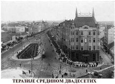 Terazije in mid twenties, Belgrade ~ Serbia