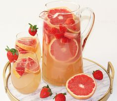 Grapefruit Sangria Recipe with White Wine