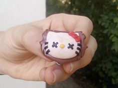 Hello Kitti Camera Cover. (Polimer Clay by Balazs Hardi)