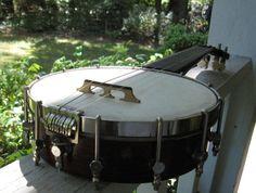 Vintage Banjo Ukulele Banjolele Ready to by CarolinaVintageUkes, $175.00