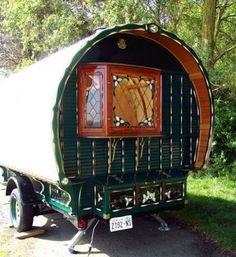 gypsy wagon...