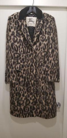 a38f20c53 LADIES BURBERRY LEOPARD COAT USA SIZE 10/ UK 12 #fashion #clothing #shoes
