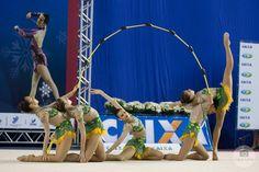 Kuželky Gymnastics Photography, Poses, Acro, Rhythmic Gymnastics, Leotards, Dance, Group, Training, Sport