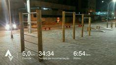Mais 5km na conta!! Faltam 17 dias para minha primeira corrida!! Go! Go! Go! #GoRunner 04/04/17 #C