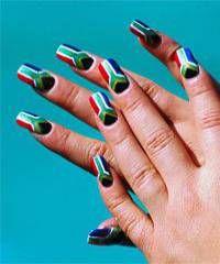 National Flag Nail Art - Nail Art Gallery