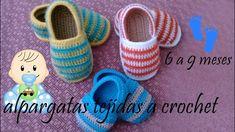 alpargatas para bebe tejidas a crochet