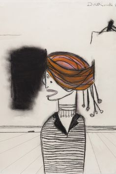 Pat Douthwaite, Woman with a Turban, charcoal & pastel, 62 x 48 cm Deathly Hallows Tattoo, Auction, Turban, Charcoal, Pastel, Faces, Museum, Woman, Portrait