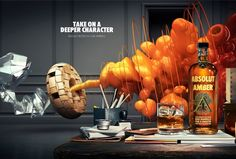 An Enthralling, Abstract 3D Animation In The Latest Absolut Vodka Ad
