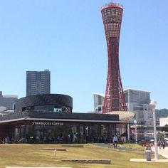 神戸旅行() 綺麗な所が沢山あってワクワクでしたー(o) 神戸 #スタバ #充実した休日  #大好きな風景写真沢山撮れた #アリアンツキャナル アシスタント岡崎