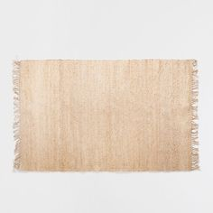 FRINGED JUTE RUG - Rugs - Bedroom   Zara Home United States of America  bathroom or kitchen rugs