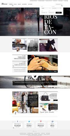 Dione, eCommerce Website on Web Design Served