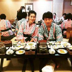 They're tasty tasty very very tasty.  They're very tasty!   #kaiseki #traditional #japanesefood #fukuoka #japan #tour #honeymoon #kimono #spas #일본여행 #일본정식 #가이세키 #밑반찬 #아기자기 #먹스타 #会席 #dabest #nomnom #hakozakigu #nipponstyle by glorias2you
