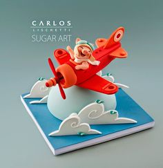 Carlos Lischetti - Sugar Art -- I wish he had a twitter or instagram account! Amazing stuff