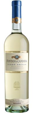 Fontana Candida Pinot Grigio.  Lush and full-bodied with a light, fruity aroma and crisp, refreshing taste.  This lively wine is the perfect complement to fettuccine alfredo, chicken cacciatore, light seafood dishes, mild cheeses and prosciutto-wrapped melon.