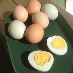 """Pressure Cooker Hard-Boiled Eggs """"If you happen to raise your own chickens or have access to really fresh eggs, a pressure cooker is the best way to make hard-cooked eggs. It doesn't really save time (the pressure cooker's usual claim to fame), but here's why it's great: it actually makes fresh eggs easy to peel!"""""""