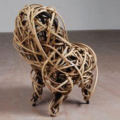 Wrapping a Thonet Chair by Matthias Pliessnig