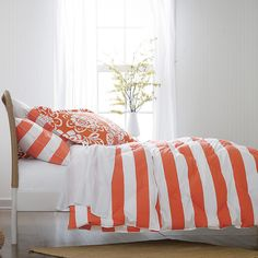 St. Tropez Cabana Stripe Lightweight Down Comforter / Duvet | The Company Store--this is happening