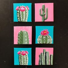19 new ideas diy decorao painting canvases fun Small Canvas Paintings, Small Canvas Art, Easy Canvas Painting, Mini Canvas Art, Acrylic Canvas, Small Paintings, Diy Canvas, Drawing On Canvas, Painting Art