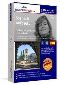 Spanisch Aufbaukurs CD-ROM & MP3 Audio CD