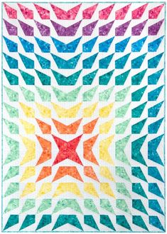 Wavelength Quilt Designer Pattern: Robert Kaufman Fabric Company